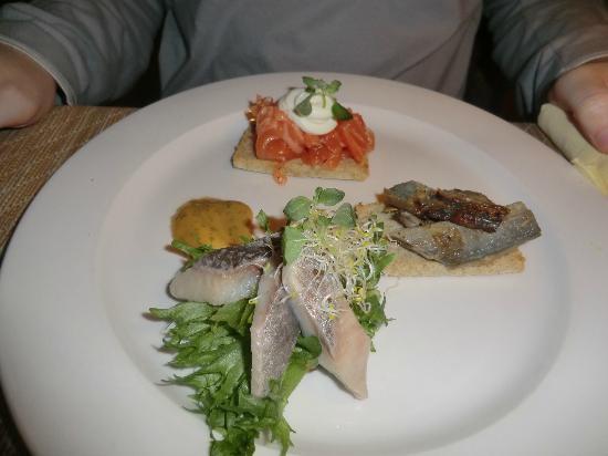 Von Krahli Aed: The mixed fish starter