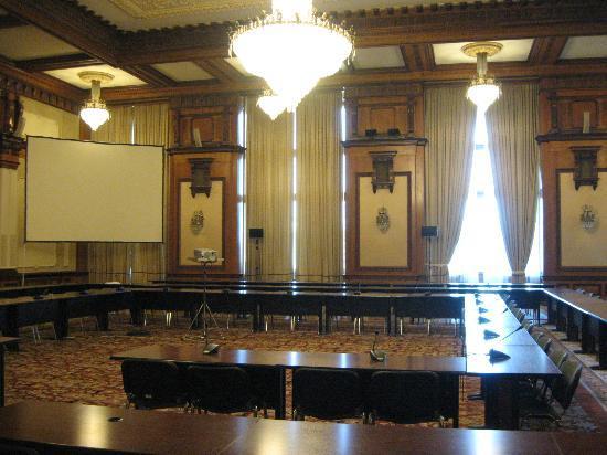 Palace of Parliament: Big room