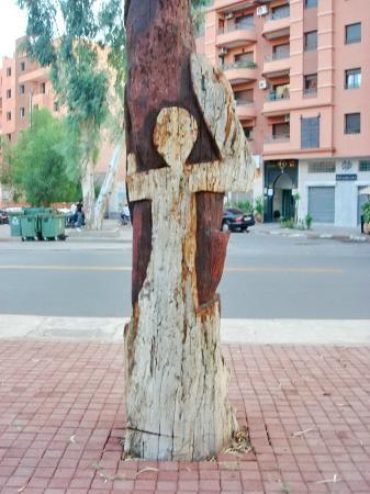 Arbres Sculptes: HUmain