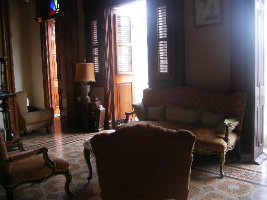 Hostal del Angel: Living room