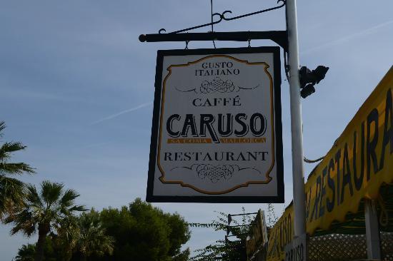 Caruso Restaurant Sa Coma : Caruso's