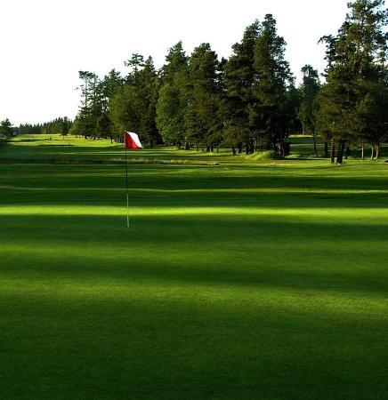 Lopez Island Golf Club: Broad fairways