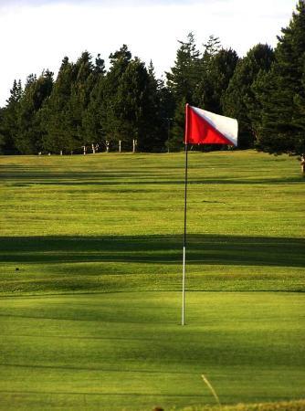 Lopez Island Golf Club: Aim here.