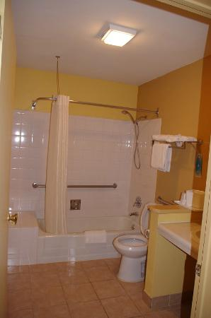 Econo Lodge: Shower - tub