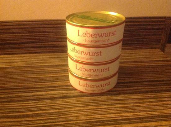 Maximilians Brauwiesen : Liverwurst! So tasty!!