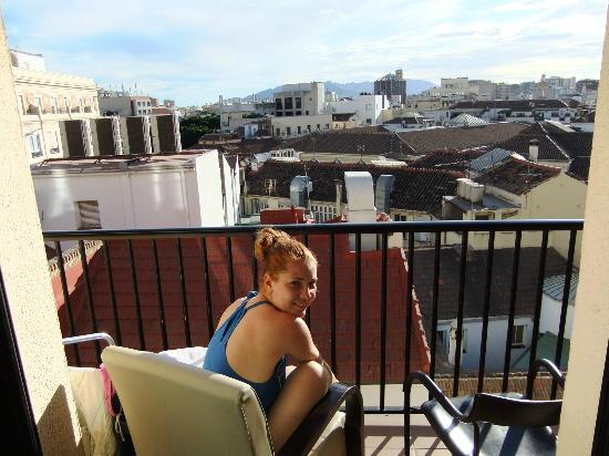 Hotel Don Curro: The view of the old city from the balcony, 6-th floor