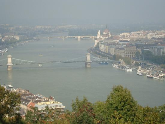 La Prima Fashion Hotel: View from Gellert Hill