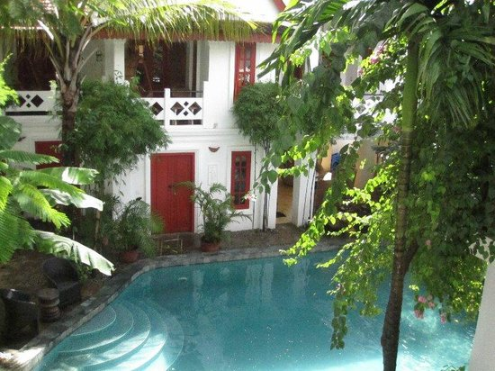 Rambutan Hotel Siem Reap: view from the window