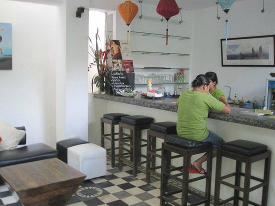 Rambutan Hotel Siem Reap: Bar area