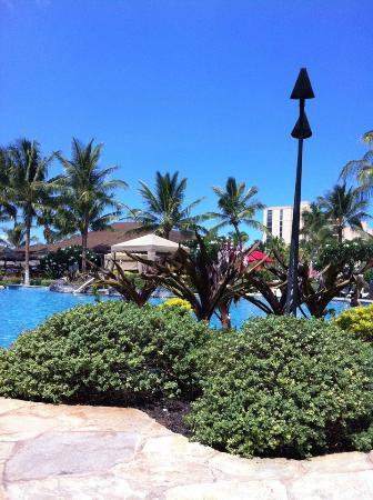 Honua Kai Resort & Spa: View from pool area
