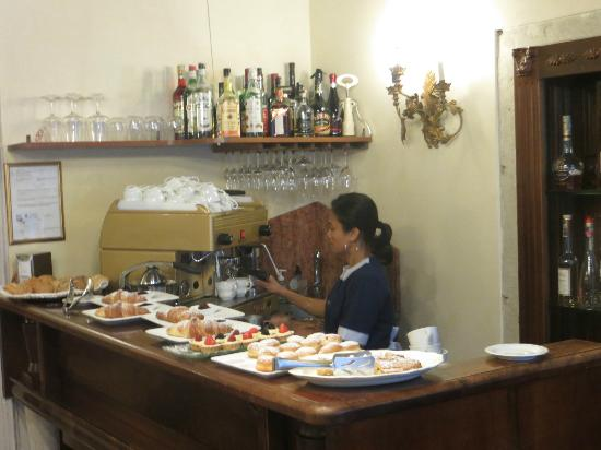 Palazzo Odoni: Breakfast