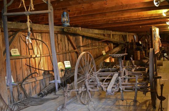 President Calvin Coolidge State Historic Site: Inside Barn