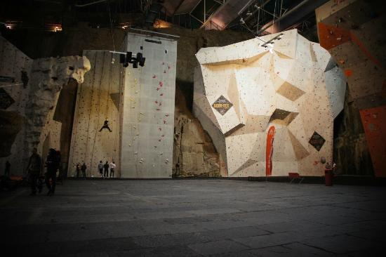 Edinburgh International Climbing Arena: Just some of the roped walls