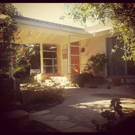 Ojai Retreat & Inn: View from the front door of my cottage in the morning
