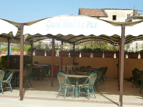 Grand Hotel la Pace: Pool Bar