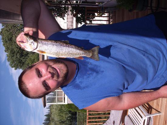 Bella Rosa Inn: The fishing is great !
