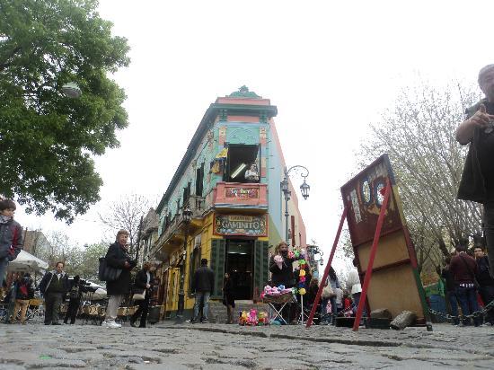 Calle Museo Caminito: Esquina clássica