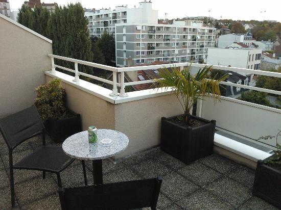 Classics Hotel Parc des Expositions: Hotel room balcony