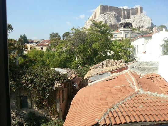 Hotel Phaedra: View from Room Balcony