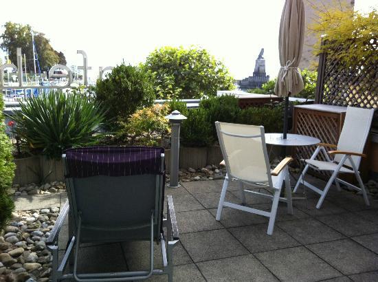 Hotel Schreier : the terrace