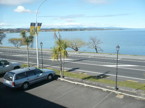 Wellesley on the Lake Taupo: View from Hotel