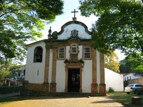 Our Lady of Rosario dos Pretos church : Chiesa degli schiavi a Tiradentes