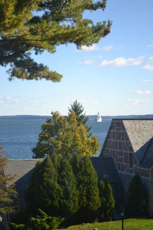 Holiday Inn Bar Harbor Regency: View from Elevator
