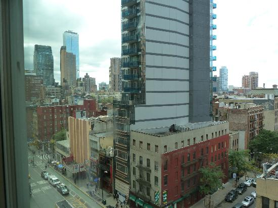 Hilton Garden Inn Times Square: View from our room.