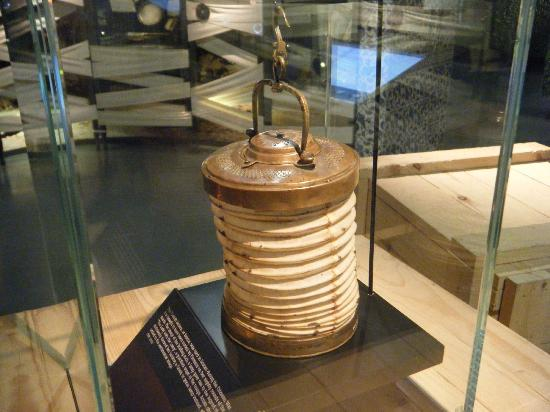 Florence Nightingale Museum: Her famous lantern.