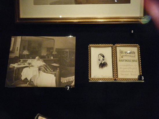 Florence Nightingale Museum: Photos of Florence Nightengale.