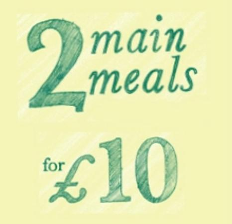 The Bear pub and restaurant: 2 FOR £10 12-3 DAILY