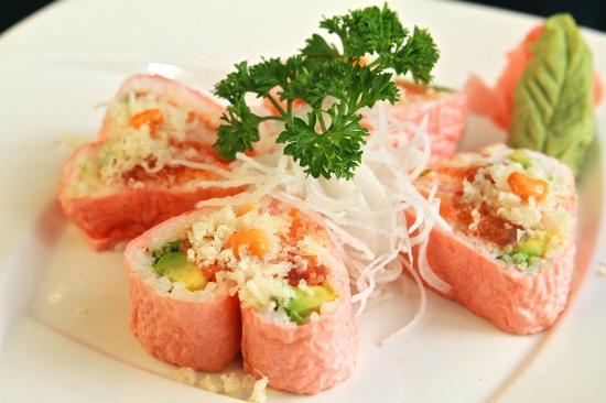 Komegashi Japanese Restaurant : Sweetheart Roll