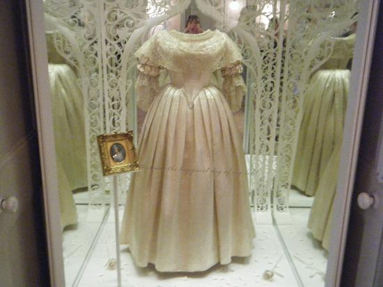Kensington Palace Royal Wedding Dresses Book : Queen victoria s wedding dress picture of kensington palace london