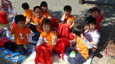 Pre-schoolers at Yeouido