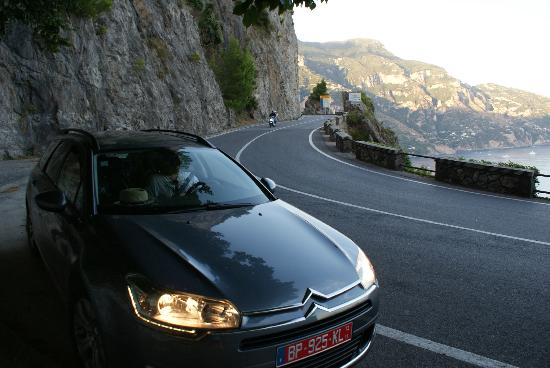 Sorrento Car Drivers: The car and the Views
