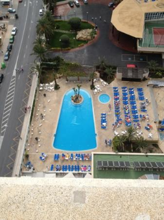 Hotel Levante Club & Spa: view from the 14th floor