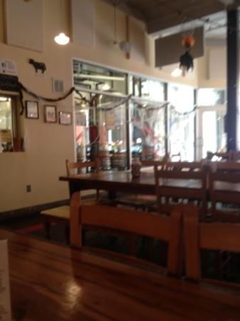 Bull City Burger and Brewery: the brew room
