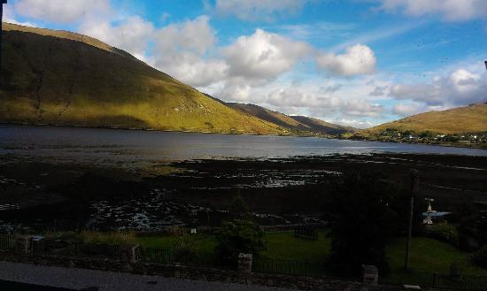 Leenane Hotel: view from the bedroom balcony