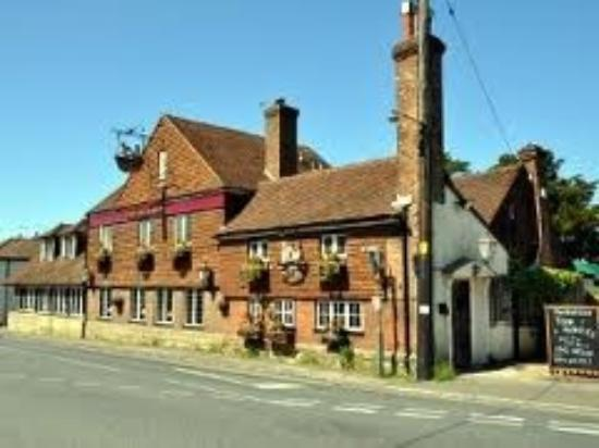 The Red Lion: very attractive inside and out