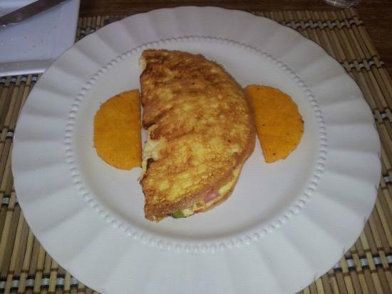 Hotel Casa de Campo Pedasi: Breakfast..yumm