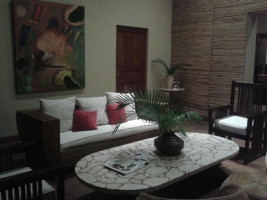 Hotel Casa de Campo Pedasi: Lounge