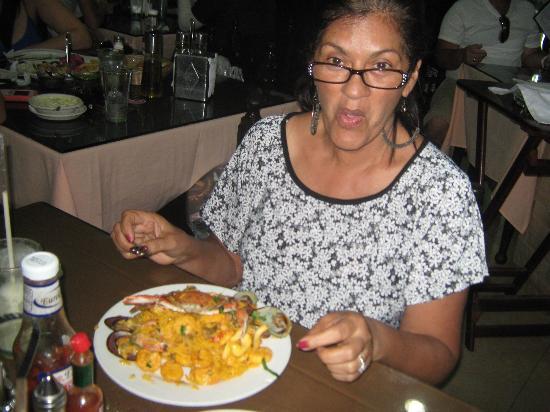 Restaurant Punto Criollo: Arroz a la marinera,
