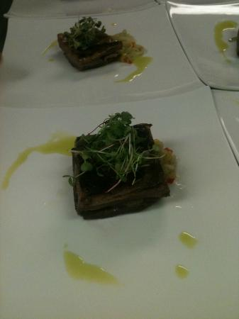Ludwig's Restaurant: Lamb belly confit