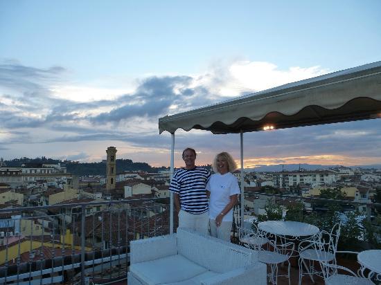 Croce di Malta Hotel: Rooftop view
