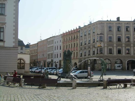 Olomouc Town Hall: another view within the square