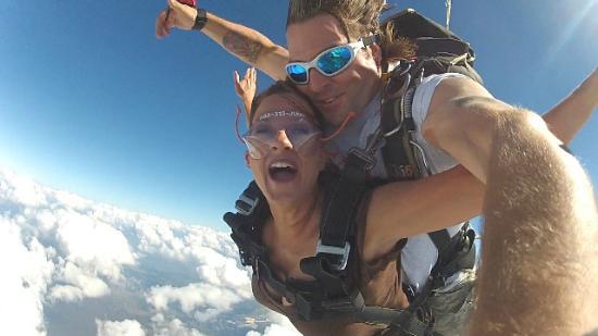 Jump Florida Skydiving : 1st jump with Pat!