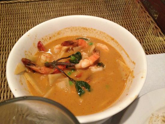 Nut POB Restaurant: Shrimp Curry Soup
