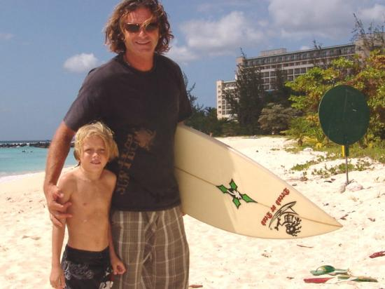 Dread or Dead Surf Shop: Father & son, master/prodigy