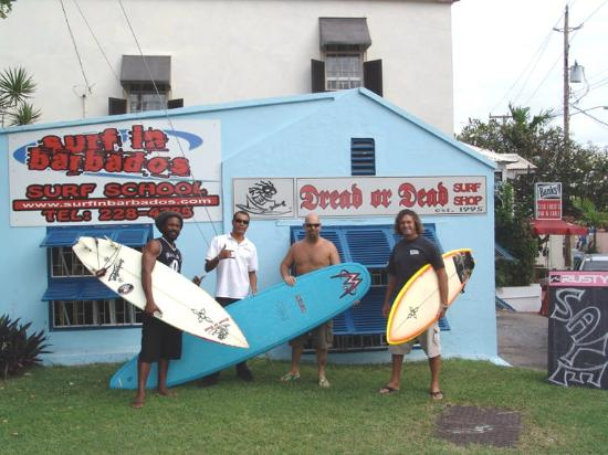 Dread or Dead Surf Shop: The old shop