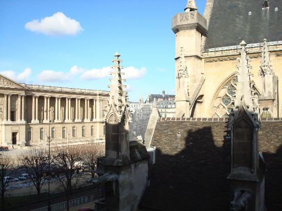 Hotel de la Place du Louvre : View from friend's room
